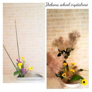 お花が初めての方も幻想的ないけばなが出来る草月流いけばな体験レッスン
