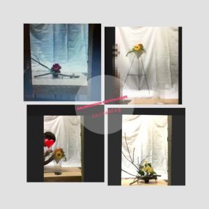 お花をお好きな花器や場所にいけて飾れる草月流いけばなオンラインレッスン