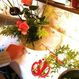 スタイリッシュなお花が楽しくいけられる~初めてのいけばな体験レッスン