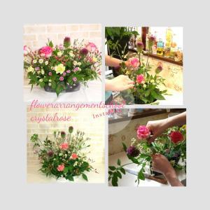 和のテイストも華やかなお花もシーンに合わせて楽しめるフラワーアレンジメントレッスン