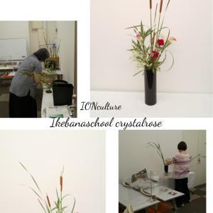 お花を楽しむいけばなカルチャークラス~イオンカルチャー東久留米さん