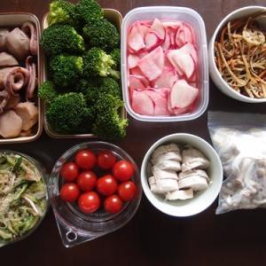 週末の常備菜作り(191124)