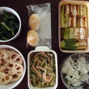 週末の常備菜作り(191201)