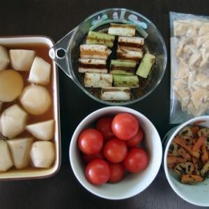 週末の常備菜作り(191208)