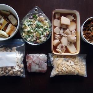 週末の常備菜作り(191222)