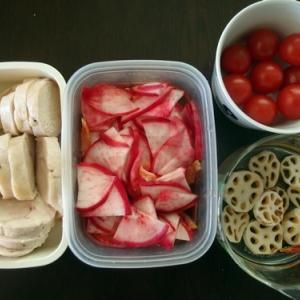 週末恒例の常備菜作り(200105)