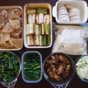 週末の常備菜作り(200119)