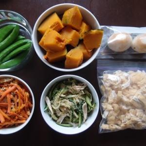 週末の常備菜作り(200216)
