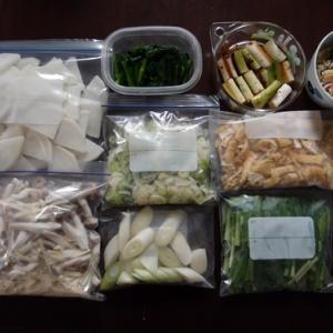 週末の常備菜作り(200405)