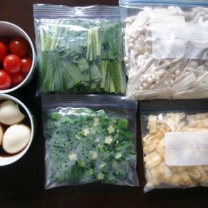 常備菜というより巣ごもり用ストック作り