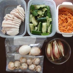 週末の常備菜作り(200607)