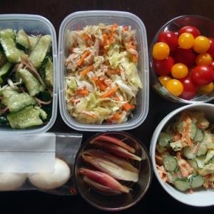 週末の常備菜作り(200614)
