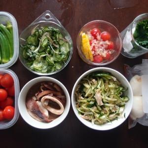 週末の常備菜作り(200629)