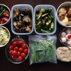 週末の常備菜づくり(200705)