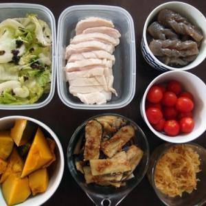 週末の常備菜作り(200922)