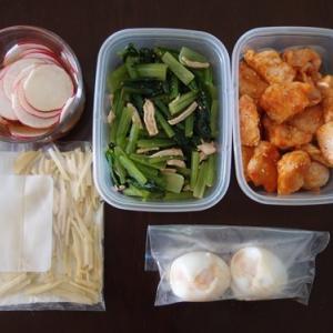 週末の常備菜づくり(201108)