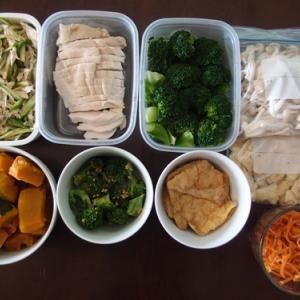 週末の常備菜作り(201115)