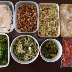 週末の常備菜作り(201123)