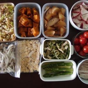 週末の常備菜づくり(201129)