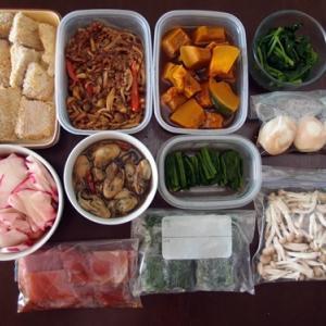 週末の常備菜作り(201206)