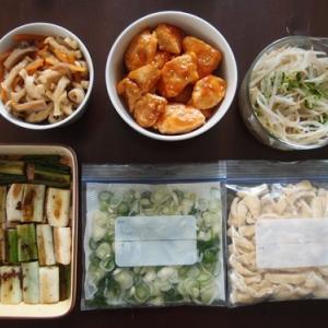 週末の常備菜作り(210111)