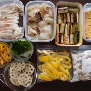 週末の常備菜作り(210117)