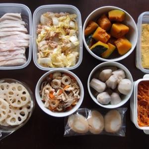 週末の常備菜作り(210125)