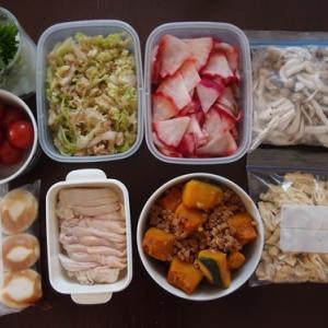 週末の常備菜づくり(210131)