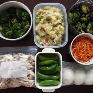 週末の常備菜づくり(210307)