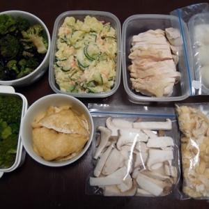 週末の常備菜づくり(210321)