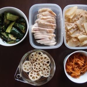 週末の常備菜づくり(210404)