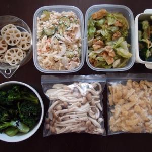 週末の常備菜づくり(210411)