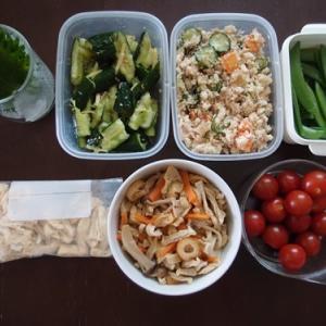 週末の常備菜作り(210509)