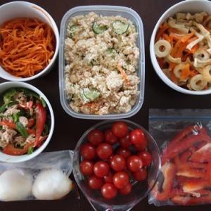週末の常備菜づくり(210530)
