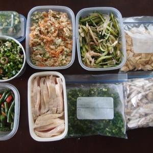 週末の常備菜づくり(210606)