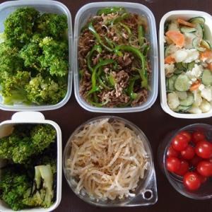 週末の常備菜づくり(210620)