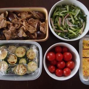 週末の常備菜づくり(210627)