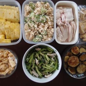 週末の常備菜づくり(210711)