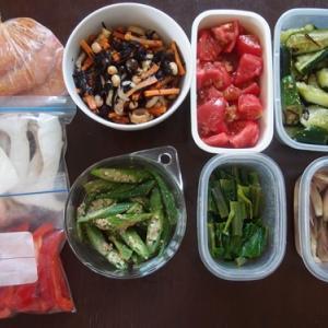 週末の常備菜づくり(210801)