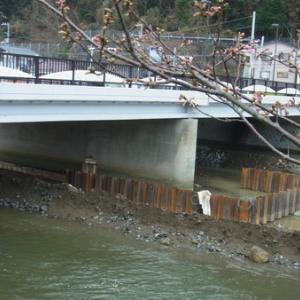 R135 はま橋工事中