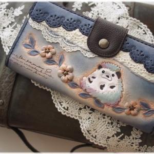 なつかしシリーズ♪ハリネズミちゃんのお財布