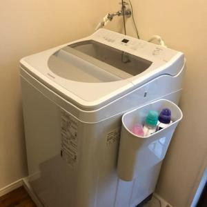 新しい洗濯機・・・ヽ( ´¬`)ノ ワ~イ