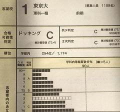 現実的に東京大学は無理そう
