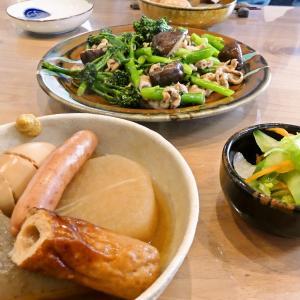 11/20 メカジキのおからフライ弁当とキクラゲ玉子炒めの晩ごはん