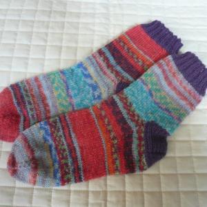 手編みの靴下『567号』