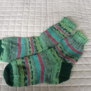 手編み靴下『588号』