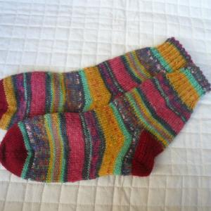 手編みの靴下『601号』と