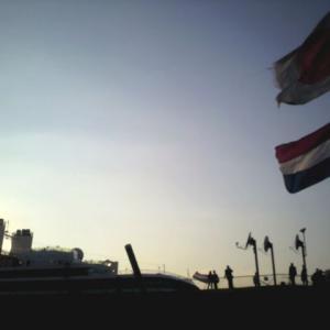 横浜港大さん橋とホーランド・アメリカラインの思い出。