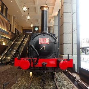 旧横ギャラリー(旧横濱鉄道歴史展示)で110形蒸気機関車に出会う。