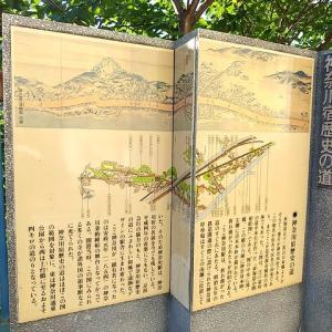 旧東海道神奈川宿ウォーク_その4。(洲崎大神、普門寺、甚行寺、本覺寺など)